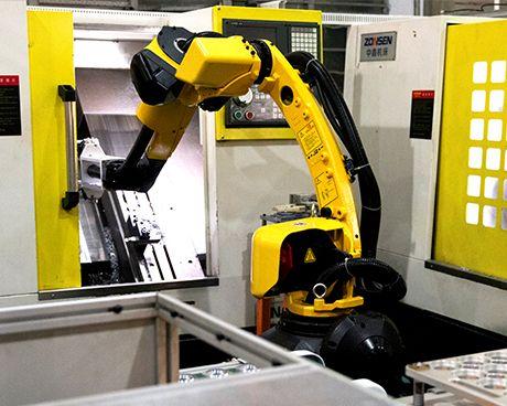 Motor Roboter Werkstatt