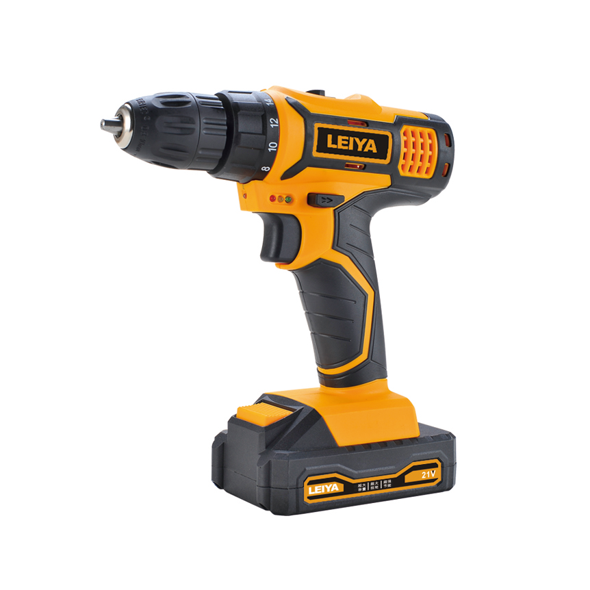 18v 1.3Ah / 2.0Ah Battery Li-ion Double Speed ​​Cordless Drill / Screw Driver Max.torque 26N.m LY-DD0218