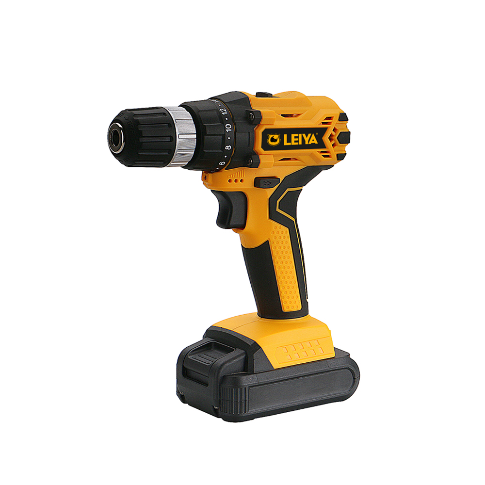 18v Brushless Mmotor 1.3Ah / 2.0Ah Li-ION Battery Cordless Drill / Screw Driver LY-DD0718
