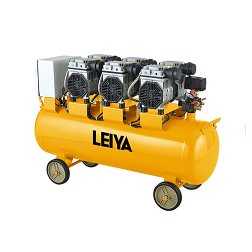 3 Motors 90l Air Tank 0.8mpa Pressure 3*1350w 2 Poles  Oil Free /silent Type Air Compressor LY-339-90