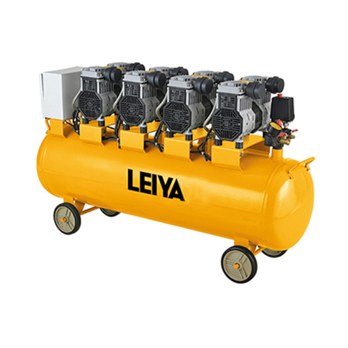 4 Motors 4*1000w 120l 0.8mpa Pressure 4 Poles Oil Free /silent Type Air Compressor LY-459-120