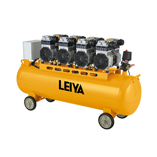 4 Motors 180l 4*1500w 0.8mpa Pressure 4 Poles  Oil Free/silent Type Air Compressor LY-489-180